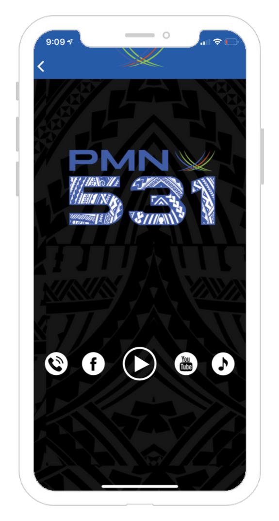 Pacific Media Network Mobile App